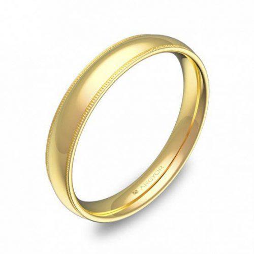 Alianza oro 18k amarillo AG-C2335P00A