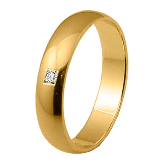 Alianza oro 18k amarillo diamante 06304AM40P10PP1C