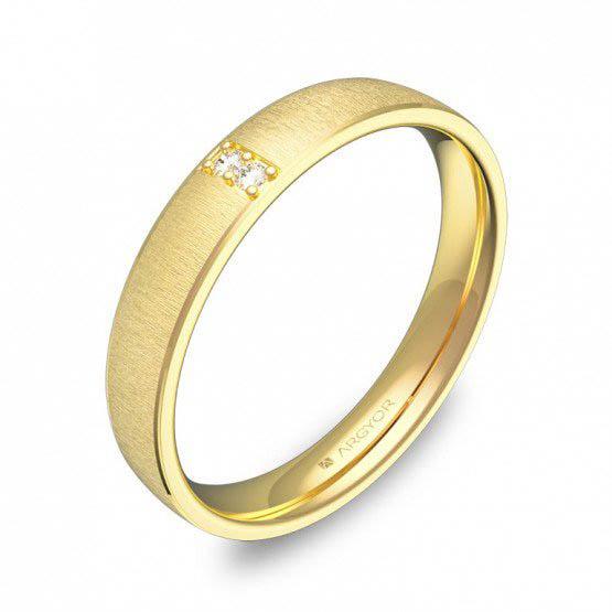 Alianza oro 18k amarillo diamantes AG54-C3235T2BA