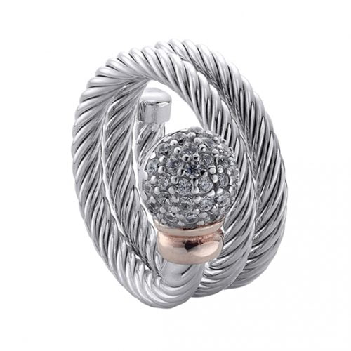 Anillo Duran Exquse plata mujer 00505105