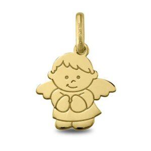 Colgante angelito de la guarda oro 240422