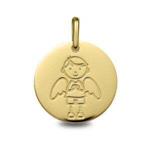 Colgante angelito oro amarillo1962002