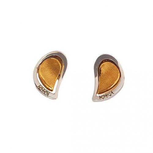 Pendientes oro y diamantes 778057