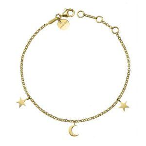 Pulsera oro luna y estrellas 4A8307300