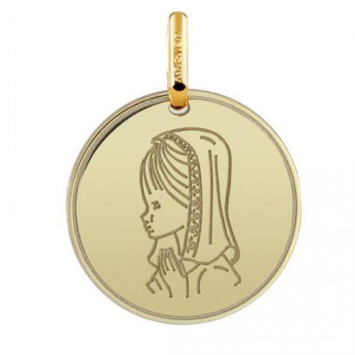 Medalla virgen oro 1960008