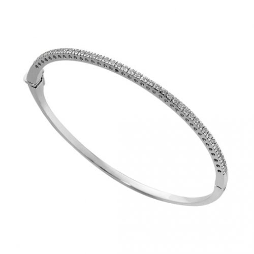 Pulsera diamantes y oro blanco 5911BB