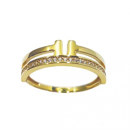 Anillo oro amarillo 475-00779 Joyeria Rincón