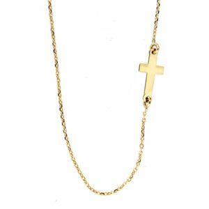 Cadena cruz oro 2-10006 Joyeria Rincón