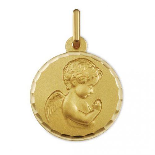 medalla-oro-angelito-rezando-1603419n Joyería Rincón