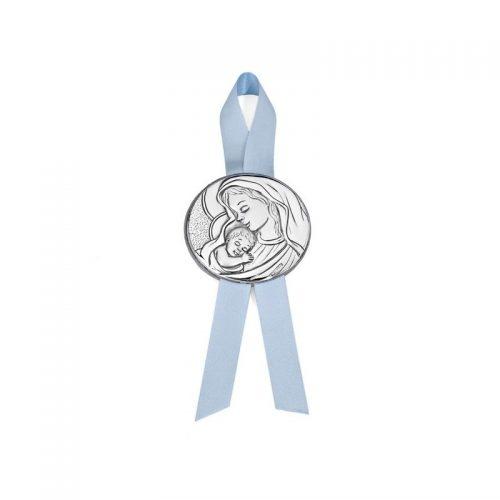 medalla-virgen-con-nino-de-pedro-duran-plateado 7500278 Joyería Rincón
