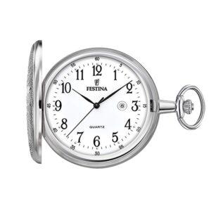 reloj-bolsillo-festina-hombre-plateado-cadena-f2023-1 Joyería Rincón