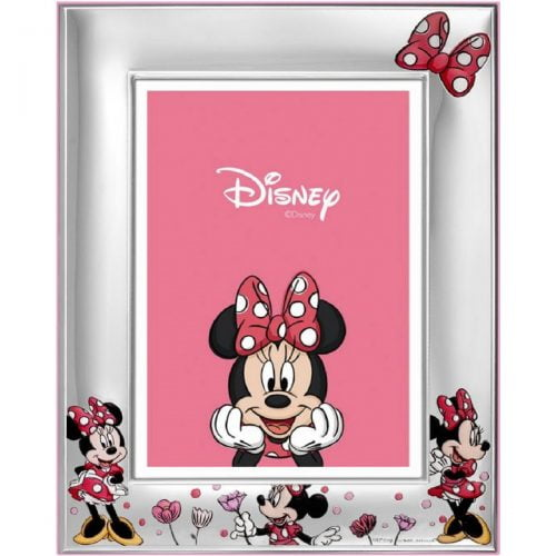 Marco infantil Minnie flores 147DN-4RA Joyeria Rincon