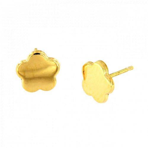 Pendiente oro blanco circonitas 26-5571-P Joyeria Rincon
