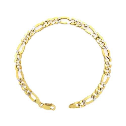 Pulsera oro amarillo 034-52711 Joyería Rincón
