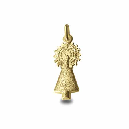 Virgen del pilar oro