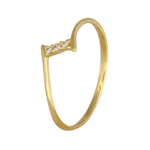 Anillo diamantes oro amarillo Joyería Rincón